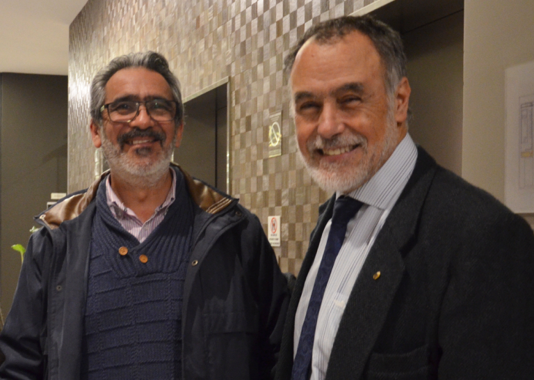 Dres. Fernando Bórquez y Andrés Venegas