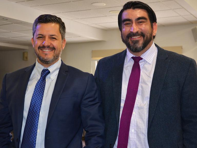 Dres. Rodrigo Mardones y Claudio Díaz