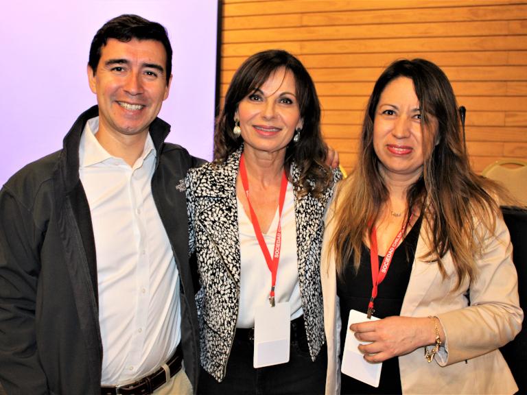 Dres. Francisco Funes, Verónica Gaete y Claudia Sagredo