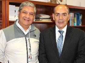 Dres. Pedro Lagos y Celso Arias