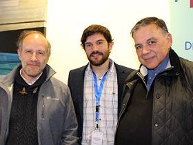 Dres. Humberto Torres, Vicente Torres y Salvador Villablanca