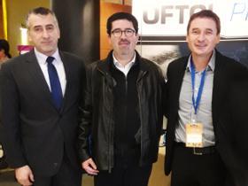 Sr. Mauricio Oyarzo y Dres. José Luis Sanhueza y Mauricio López