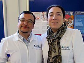 Dres. Fernando Véliz y Cecilia León