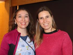 Dras. María Emilia Mejías y María José Rojas
