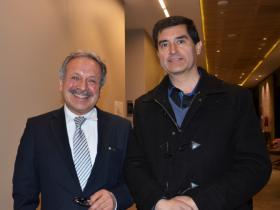 Dres. Pedro Quilodrán y José Vergara