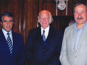 Dres. Ernesto Aránguiz, Jorge Kaplán y Oneglio Pedemonte